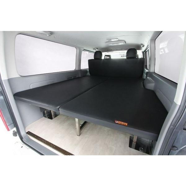ユーアイビークル(UI-Vehicle) マルチウェイフォルドベッドキット レザー/モケット 200系ハイエース標準ボディ用