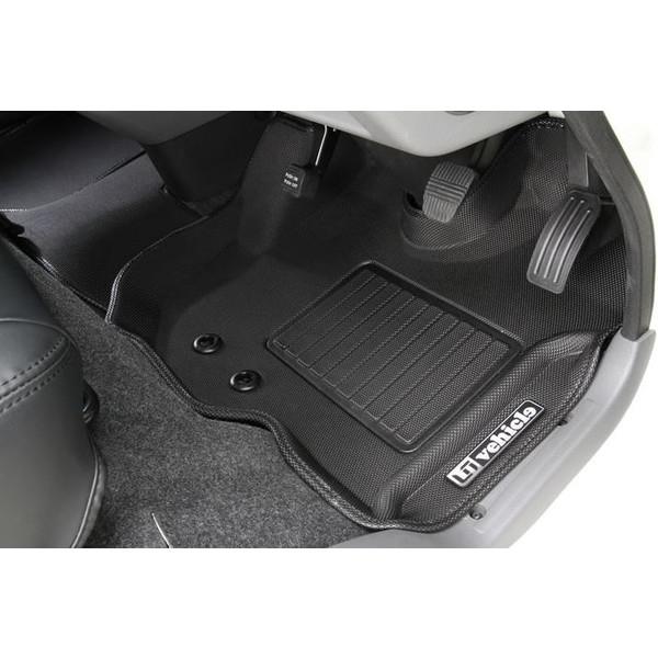 ユーアイビークル(UI-Vehicle) NV350キャラバン プレミアムGX用3Dラバーマット フロント3pcs