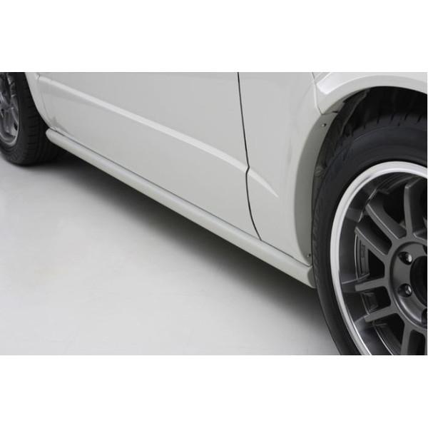 ユーアイビークル(UI-Vehicle) Forbitoサイドステップ未塗装 200系ハイエース