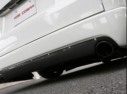 415コブラ(ラブラーク) ナロー用STAGE1 リアバンパースポイラー未塗装 200系ハイエース4型標準ボディ