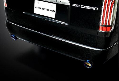 415コブラ(ラブラーク) ナロー用CLEAN LOOK リアバンパースポイラーW 未塗装 200系ハイエース4型標準ボディ