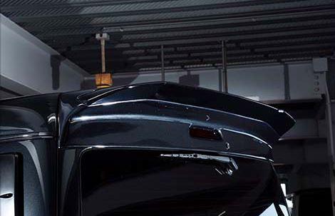 SADカスタム(SAD-CUSTOM) デイジータイプ4 200系ハイエースワイドボディ リアウイング未塗装