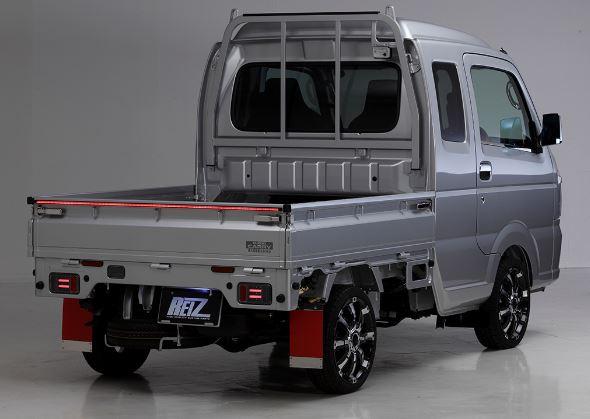 REIZ(ライツ) LEDバーライト150cm 4機能内蔵(スモール/ブレーキ/ウインカー/リバース) 流れるウインカー仕様 キャリィトラック、ハイゼットトラックに最適