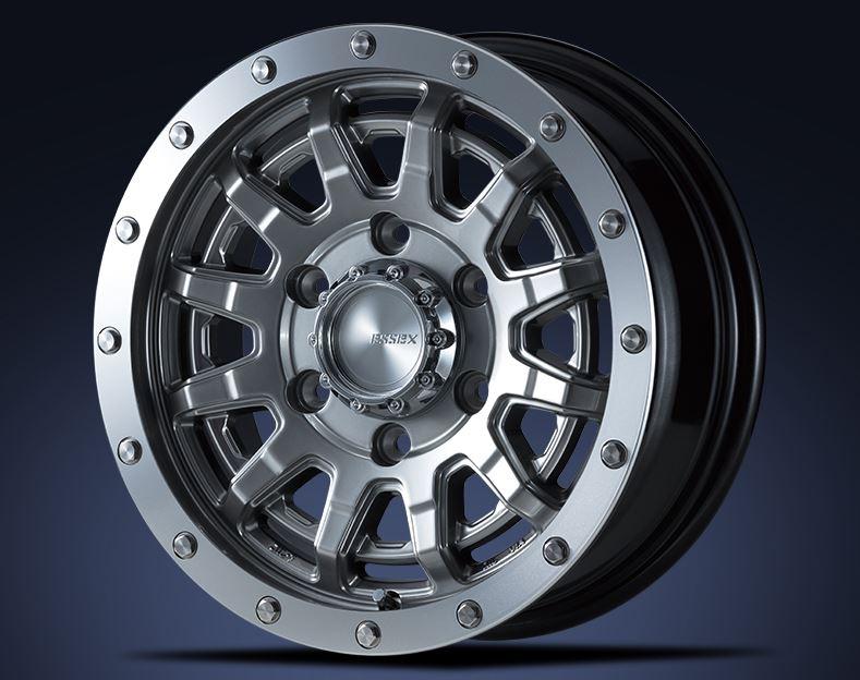 スタッドレス ESSEX(エセックス) EX ハイパーグロス 15インチ【厳選輸入195/80R15ホイールタイヤ4本セット】200系ハイエースに最適〈タイヤ銘柄選べます〉