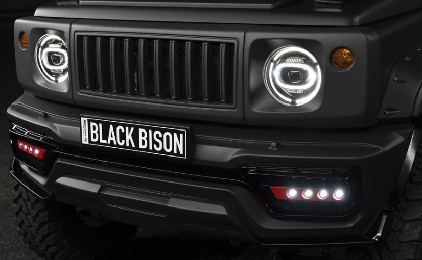 WALD (ヴァルド) SPORTS LINE BLACK BISON EDITION フロントバンパースポイラー未塗装 ABS製 ジムニー シエラ