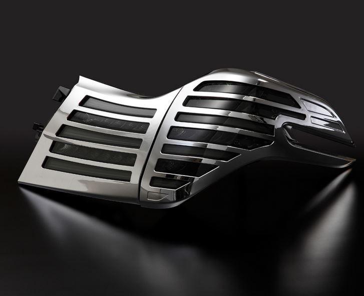 メテオ(METEO) LEDテール スモークテール&メッキカバー 30系ヴェルファイア・30系アルファード