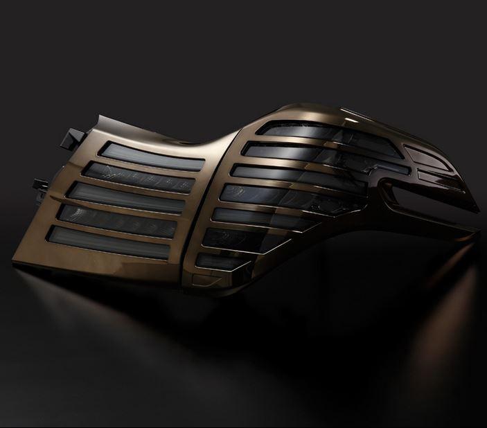 メテオ(METEO) LEDテール スモークテール&ブロンズメッキカバー 30系ヴェルファイア・30系アルファード