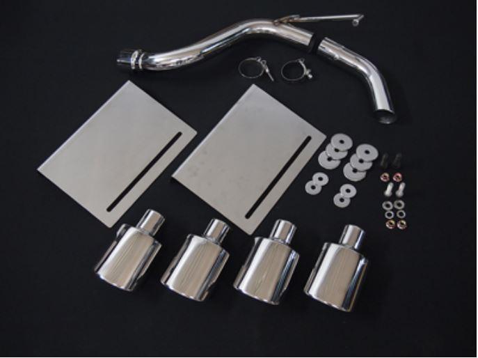 ジョーカーデザイン JOKER セール商品 DESIGN 4本だしダミーマフラー 54タイプ 1~6型 毎日激安特売で 営業中です 200系ハイエース 3点セット MF-02