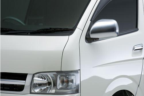 ユーアイビークル(Ui-vehicle) 海外純正コーナーパネル 塗装済み 200系ハイエース 209ブラック・070ホワイトパール