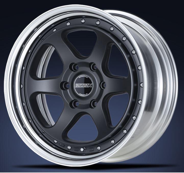 ESSEX(エセックス) タイプEL 2P マットブラック 16インチ 【厳選輸入215/65R16ホイールタイヤセット】 200系ハイエースに最適〈タイヤメーカー選べます!〉