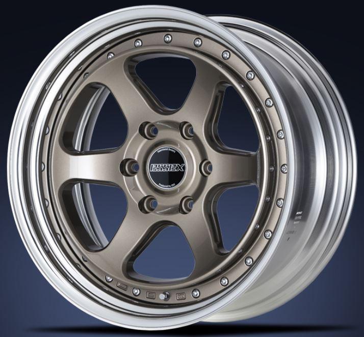 ESSEX(エセックス) タイプEL 2P ブロンズ 17インチ 【厳選輸入215/60R17ホイールタイヤセット】 200系ハイエースに最適〈タイヤ銘柄選べます!〉