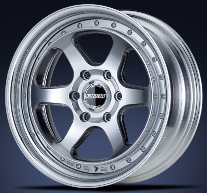 ESSEX(エセックス) タイプEL 2P ハイパーグロス 18インチ 【厳選輸入225/50R18ホイールタイヤセット】 200系ハイエースに最適〈タイヤ銘柄選べます!〉