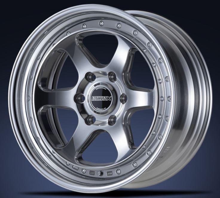 ESSEX(エセックス) タイプEL 2P バフフィニッシュ 19インチ 【厳選輸入225/40R19ホイールタイヤセット】 200系ハイエースに最適〈タイヤ銘柄選べます!〉
