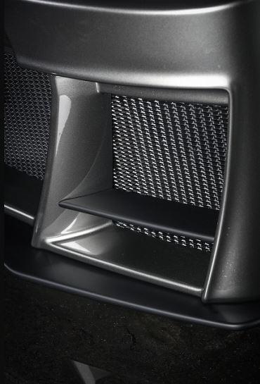 クールレーシング(KUHL) 200V-GT フロントバンパーフィン未塗装 200系ハイエース1~4型【標準ボディ】