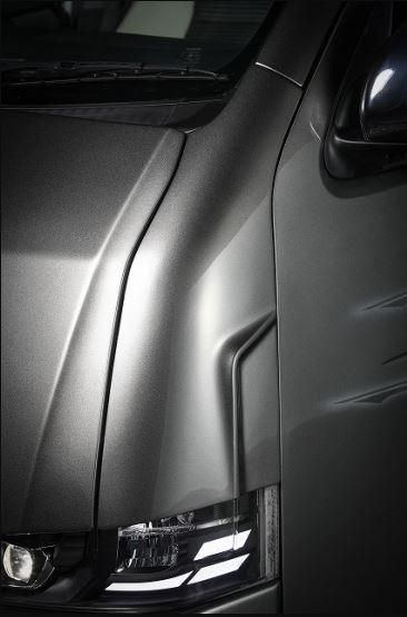 クールレーシング(KUHL) 200V-GT コーナーパネルカバー未塗装 200系ハイエース1~4型