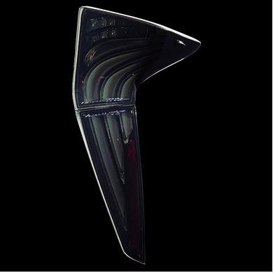 ヴァレンティ(Valenti) ジュエルLEDテールレンズREVO ZVW50プリウス ライトスモーク・ブラッククロームTT50PRI-SB-1