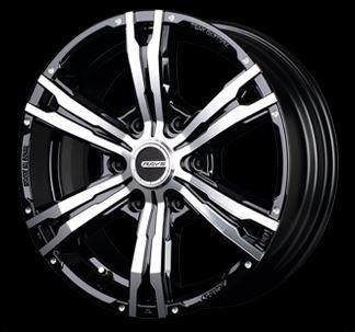 レイズ デイトナFDX-HC KTPカラー17インチ 【厳選輸入215/60R17ホイールタイヤセット】 200系ハイエースに最適〈タイヤ銘柄選べます!〉