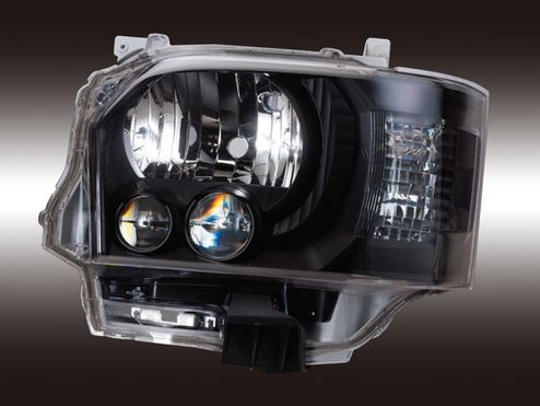 ヴァレンティ(Valenti) ジュエルヘッドランプシリーズ 200系ハイエース 4型純正LEDヘッドライトルック HL200A-CM-4J~
