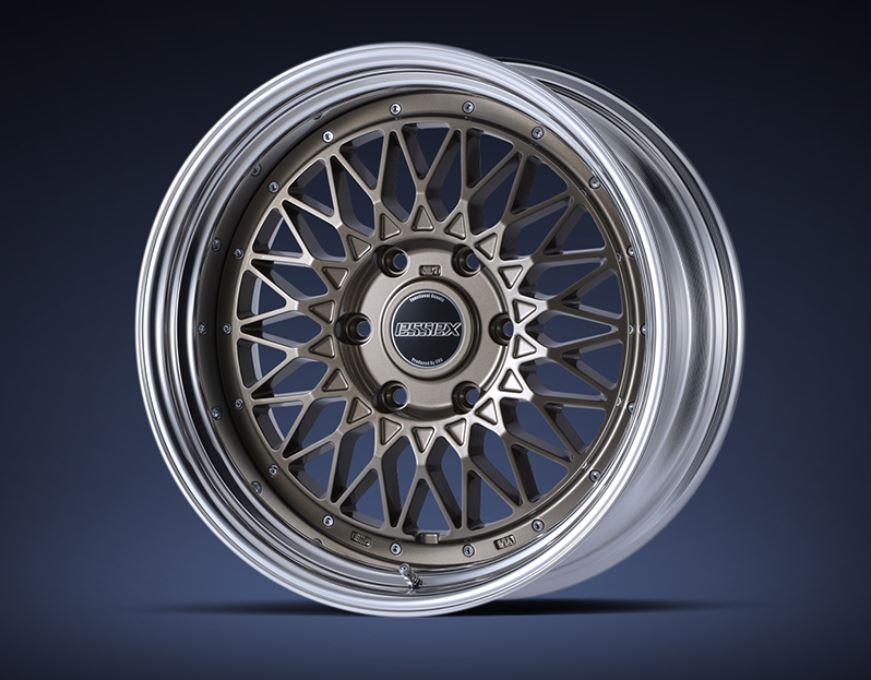 ESSEX(エセックス) ENCM(2P) ブロンズ 17インチ 【厳選輸入215/60R17ホイールタイヤセット】 200系ハイエースに最適〈タイヤ銘柄選べます!〉