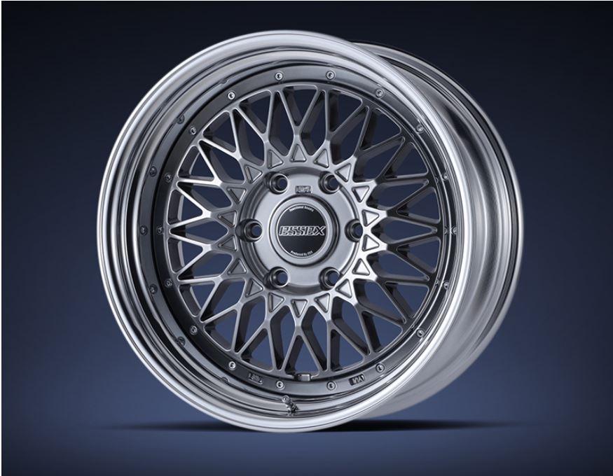 ESSEX(エセックス) ENCM(2P) ハイパーグロス 17インチ 【厳選輸入215/60R17ホイールタイヤセット】 200系ハイエースに最適〈タイヤ銘柄選べます!〉