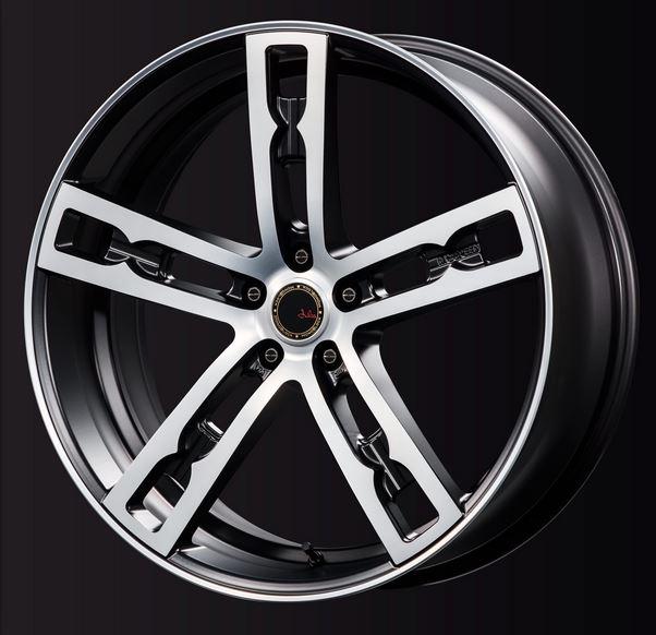 M'sSPEED(エムズスピード)ジュリア555モノブラック マットブラックポリッシュ 20インチ8.5J【厳選輸入タイヤ245/35R20セット】20ヴェルファイア・アルファードに最適 即納OK 希望のタイヤメーカーがあれば変更可能です!