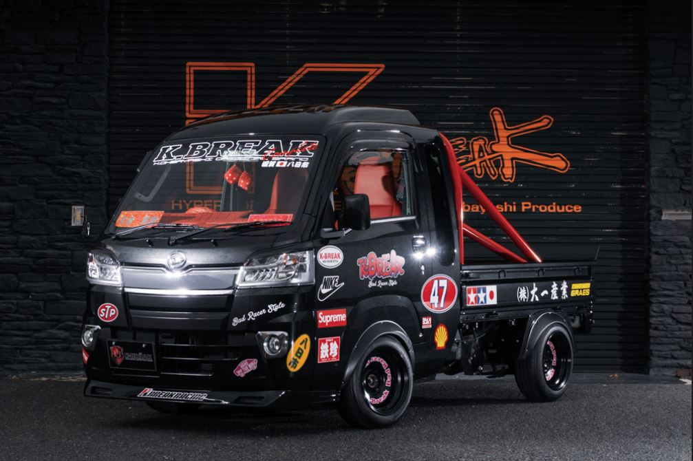 K-BREAK(ケイブレイク) BabyGang フロントリップスポイラー未塗装 ハイゼットトラックジャンボ500系
