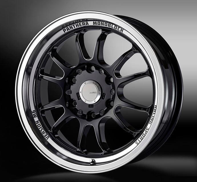 ゴジゲン(5ZIGEN) パンテーラM6 ブラックリムポリッシュ 16インチ 【厳選輸入215/65R16タイヤセット】 200系ハイエースに最適〈タイヤ銘柄選べます!〉