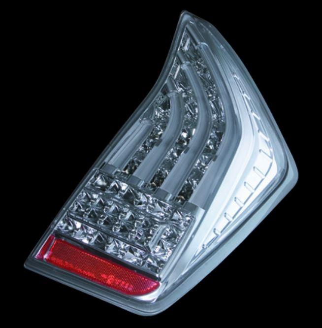 ヴァレンティ(Valenti) ジュエルLEDテールレンズ【シーケンシャルモデル】 ZVW30プリウス クリアクローム TT30PRI-CC-2