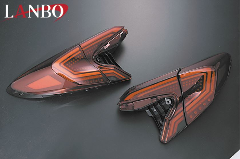 ランボ(LANBO) LEDテールレンズ 【レッド】 C-HR ZYX10/NGX10/NGX50