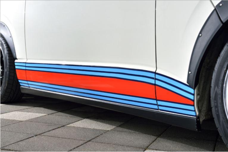 パンドラ(PANDORA) コンペテック サイドステップ未塗装 200系ハイエース【4型標準ボディ専用】
