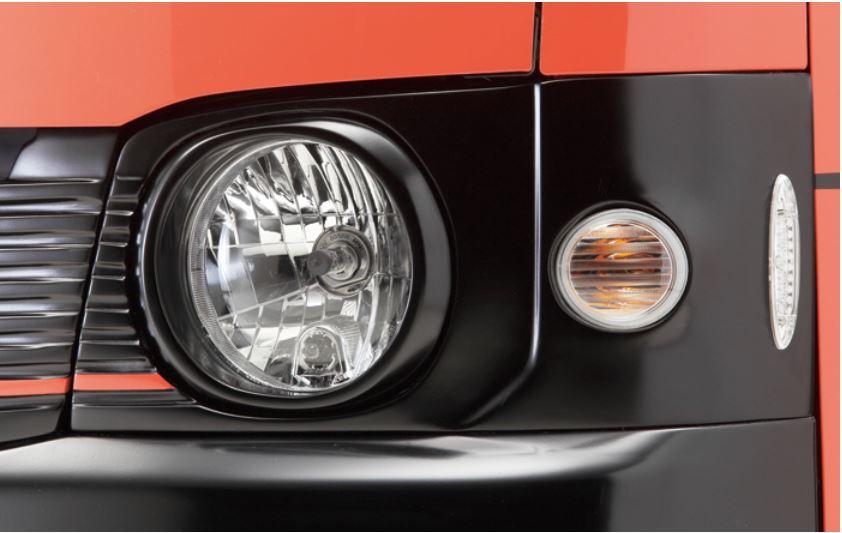 ボクシースタイル ZERO(ゼロ)型ヘッドライトハウジング 200系ハイエース1~2型