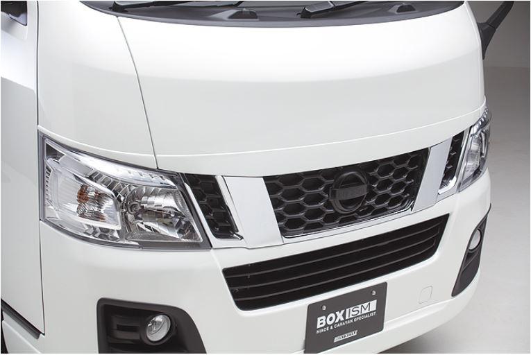 ボクシースタイル(BOXYSTYLE) トップモール3P未塗装 NV350キャラバン標準ボディ1型【~29年6月】