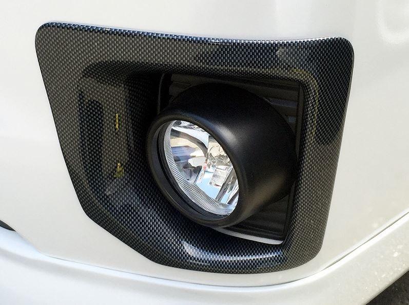 4型フォグカバー カーボンルック 200系ハイエース4型標準ボディ専用 セカンドハウス【ヴォーグ/VOGUE】