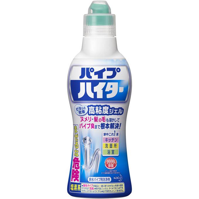 高粘度ジェルがパイプ臭を解決 花王 パイプハイター 誕生日/お祝い 海外輸入 高粘度ジェル 500g
