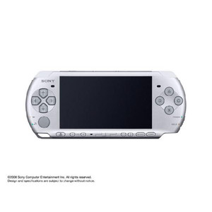 PSP-3000 PlayStation Portable console Japan Edition Mystic silver PSP-3000 MS, brand new instant PSP3000