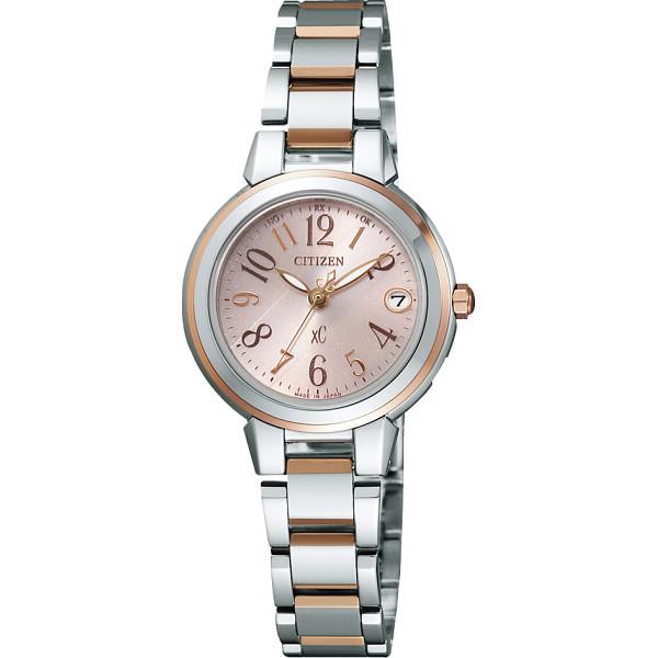 シチズン クロスシー レディース電波腕時計 ピンク ES8034-57W【16日9:59までポイント10倍】