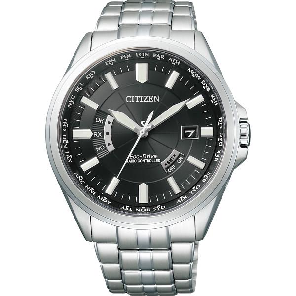 シチズン メンズ電波腕時計 ブラック CB0011-69E【16日9:59までポイント10倍】