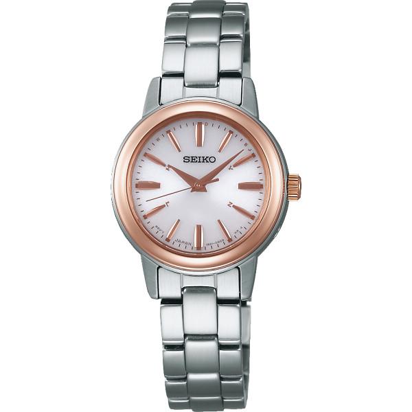 セイコー ソーラー電波 レディース腕時計 SSDY018