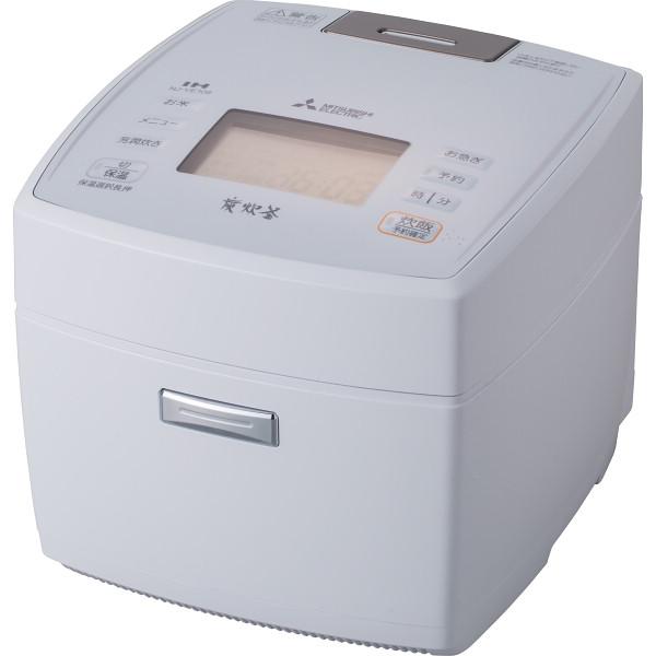 三菱 IHジャー炊飯器(5.5合) NJ-VEA10S-W【16日9:59までポイント10倍】