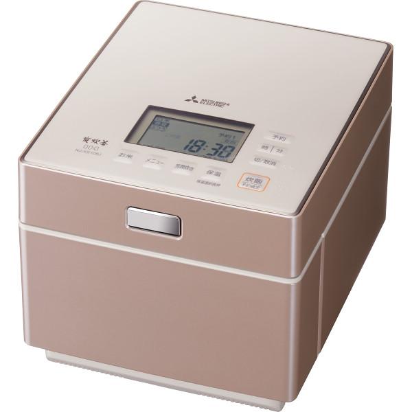 三菱 蒸気レスIHジャー炊飯器(5.5合) NJ-XS108J-P【16日9:59までポイント10倍】