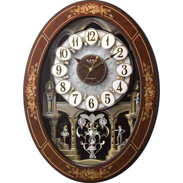 スモールワールド メロディ付象嵌電波からくり時計(30曲入) 4MN546RH06【16日9:59までポイント10倍】