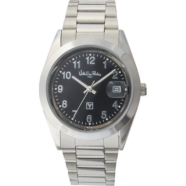 ヴァレンチノ・ルウディ メンズ腕時計 ブラック VR-101M【16日9:59までポイント10倍】