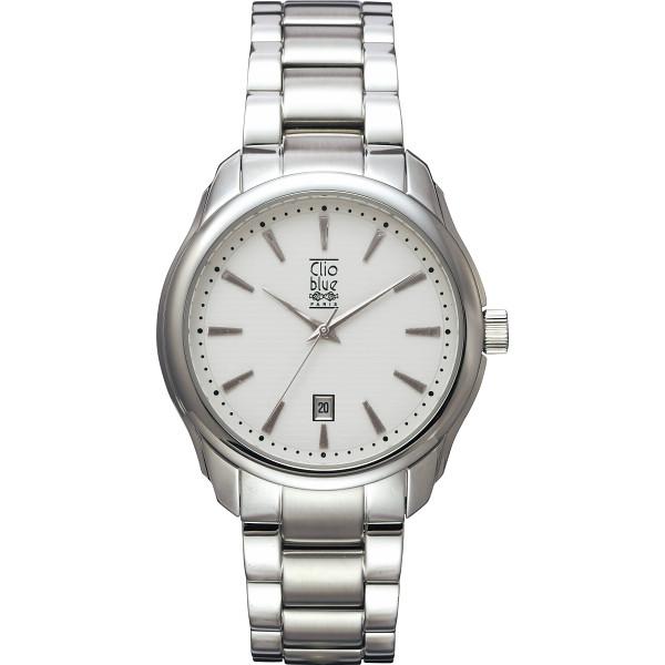 クリオブルー 三つ折式メンズ腕時計 W-CLM15229SV【16日9:59までポイント10倍】