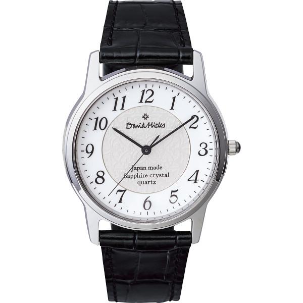デビッドヒックス メンズ腕時計 ブラック RO-055MB-DH【16日9:59までポイント10倍】