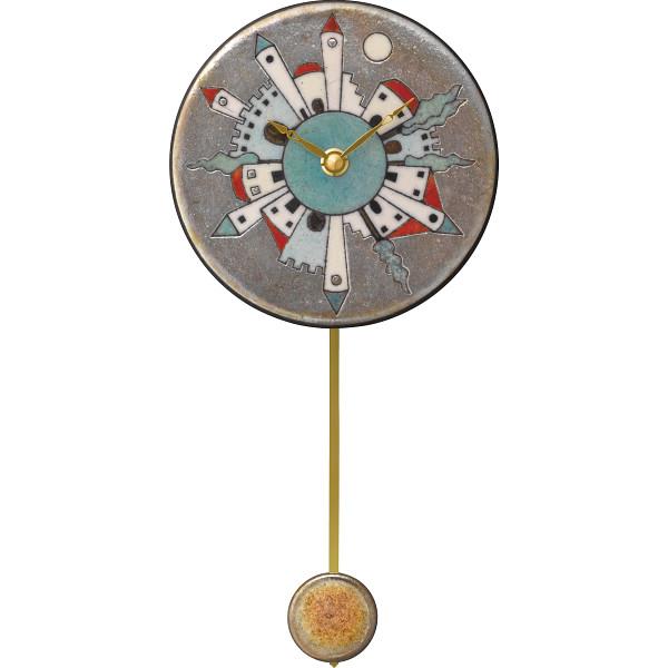アントニオザッカレラ 掛時計 グレー系 ZC918-018【16日9:59までポイント10倍】