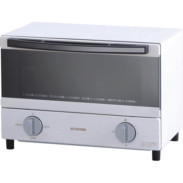 アイリスオーヤマ スチームオーブントースター (2枚焼き) SOT-011-W(572889)【16日9:59までポイント10倍】