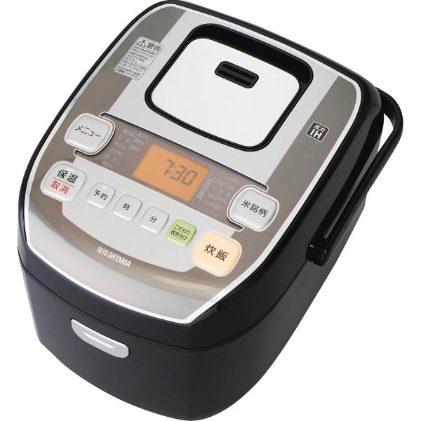 アイリスオーヤマ 米屋の旨み 銘柄炊き 圧力IHジャー炊飯器(5.5合) RC-PA50-B(562099)【16日9:59までポイント10倍】