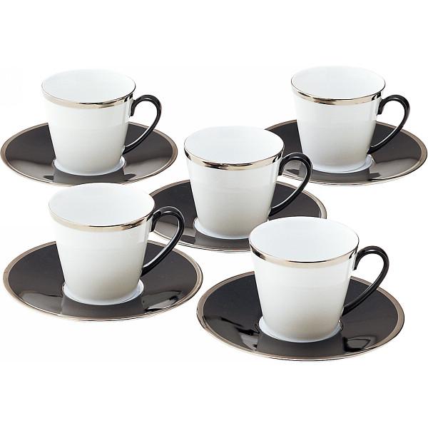 ビギン コーヒー碗皿5客セット 26460【26日9:59までポイント10倍】