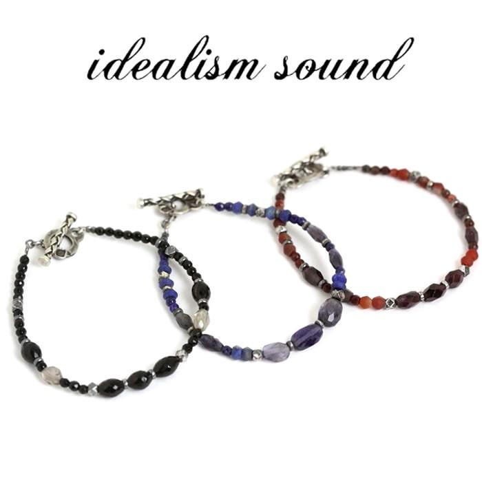 idealism sound ブレスレット,イデアリズムサウンド ブレスレット,ストーンブレスレット (3色展開) 通販