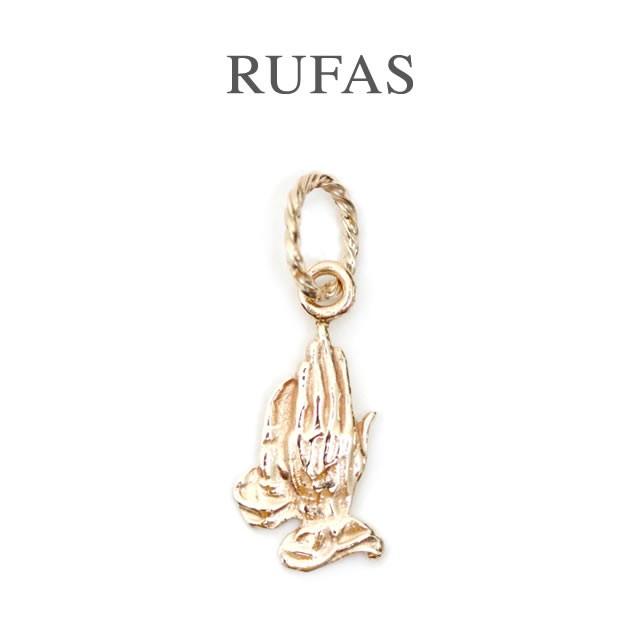 RUFAS ルーファス,ペンダント プレイングハンズ ペンダント K10ゴールド Praying Hands Pendant K10GOLD メンズ レディース 正規取扱い 通販